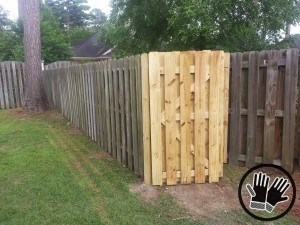 fence gate repair