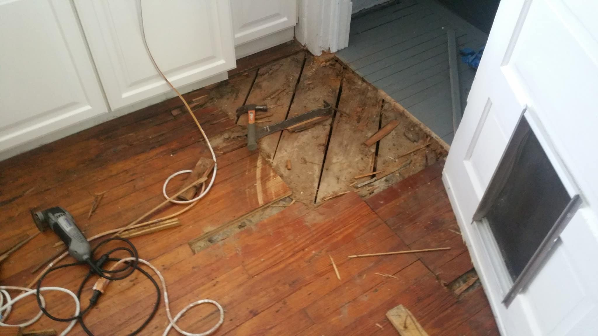 Hardwood Flooring Refinishing Repair