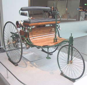 Mercedes Benz Earliest Petrol Engine Vehicle