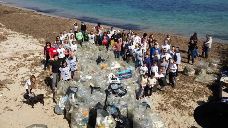 La plastica è un grave problema per la terra ed il mare