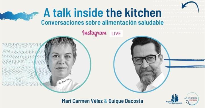 Quique Dacosta y Mujeres en Gastronomía se unen con Acuicultura de España por la alimentación del futuro