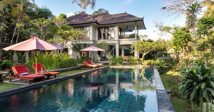 Suara Air Luxury Villas en Ubud, Bali; viviendo el Poder de la Naturaleza