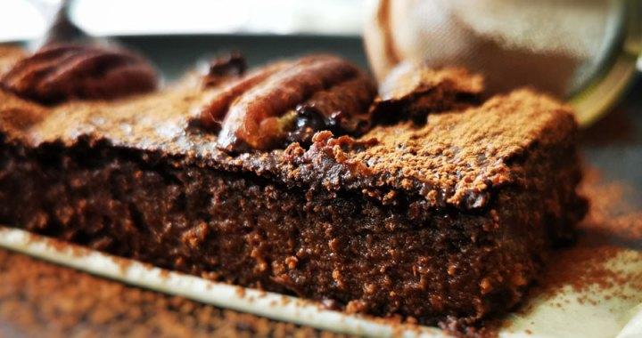 Brownie de boniato y cacao