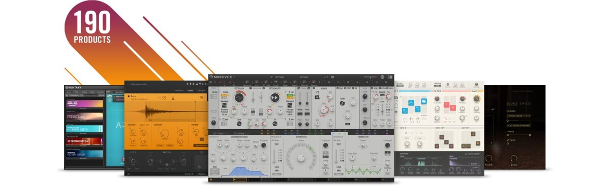 Native Instruments 50% off Black Friday