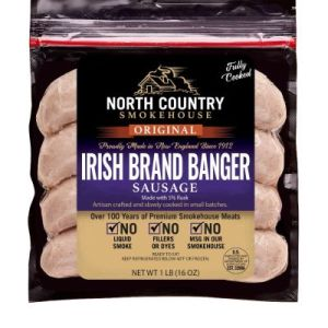 North Country™ Frozen Sausage Bangers 1 lb