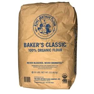 King Arthur™ Organic Flour, 50 lbs