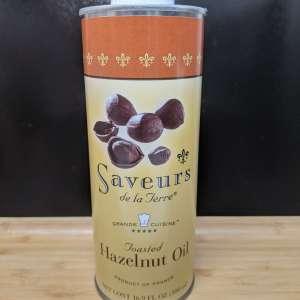 Saveurs Toasted Hazelnut Oil, 16.9 oz