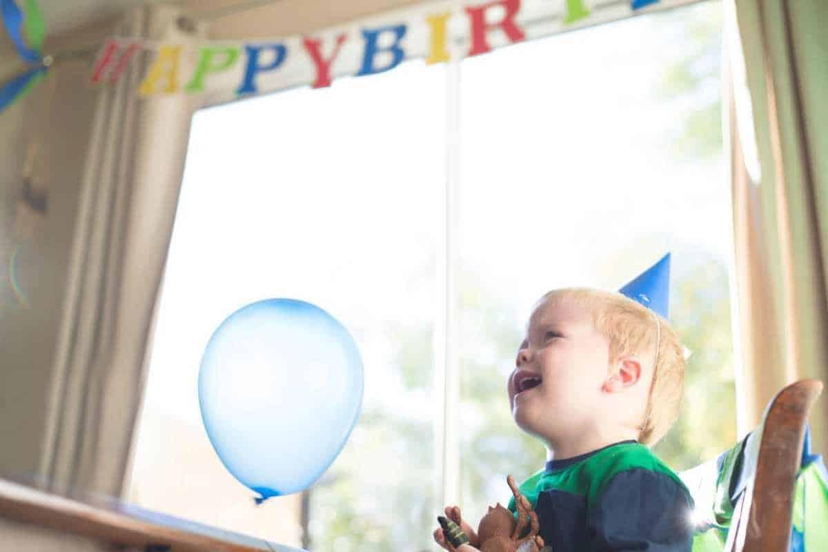 toddler birthday party