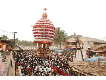 Sri Rajarajeshwari Temple In Polali