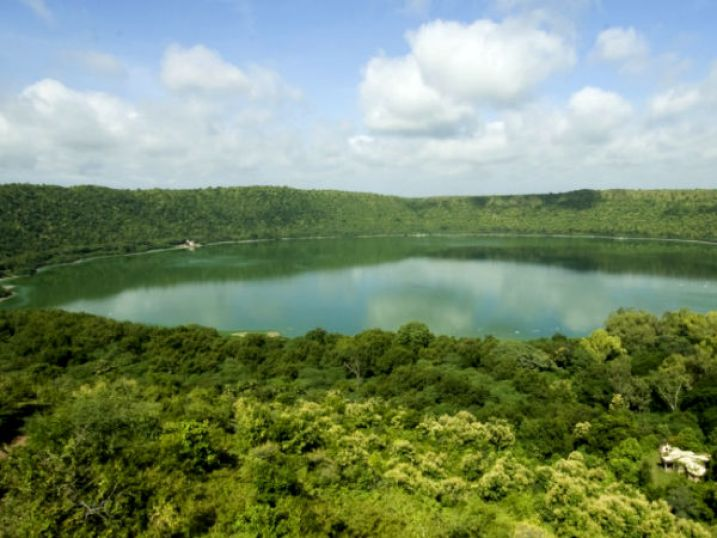 Lonar lake in Maharashtra