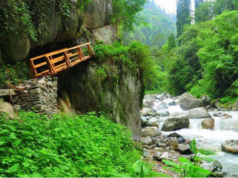 Image result for Shoja, Himachal Pradesh