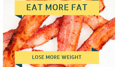 Bacon helps you eat more fat on a ketogenic diet
