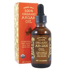 argan oil makes hair silky