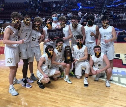 Natvitiy BVM High School Boys Basketball PIAA Class A State Champions 2021