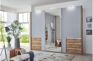 Kleiderschrank mit Schiebetüren AMOUNT v2 von NATIVO Möbel ...