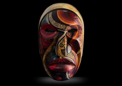 Découvrez une collection unique de masques sud-américains