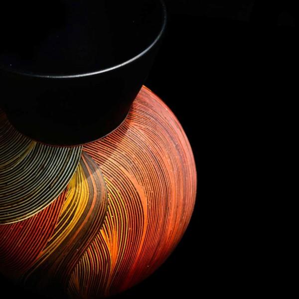 vase bois fibres blé nativos