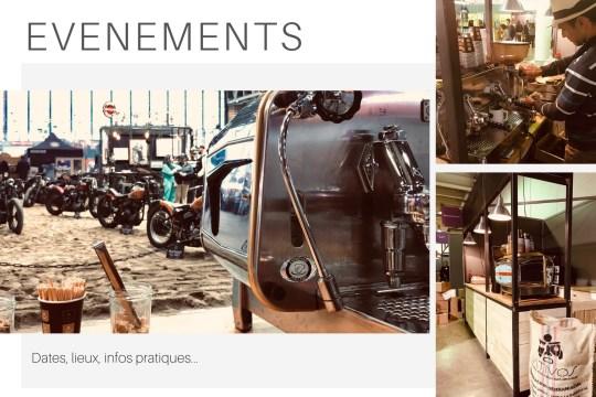 Salons Nativos, stand café, dégustation et vente de café colombien de spécialité