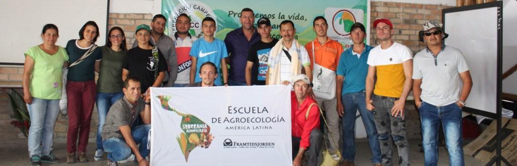 Ecole d'agroécologie pour culture du café en Colombie