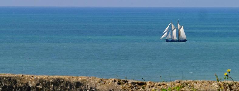 Arrivée du voilier Gallant en Bretagne