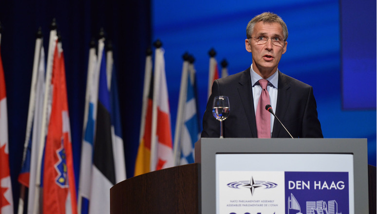Keynote speech by NATO Secretary General Jens Stoltenberg at the 60th Plenary Session of the NATO Parliamentary Assembly in The Hague.