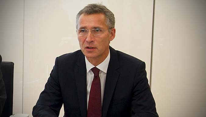 Bilateral meeting between NATO Secretary General Jens Stoltenberg and the Minister of Defence of the Czech Republic, Martin Stropnicky