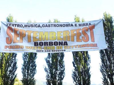 Septemberfest, Borbona (i ringraziamenti)