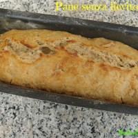 Pane senza lievito di birra facilissimo e ottimo