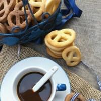 Biscotti light alla ricotta semplici e al cacao