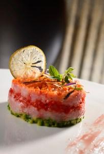 Tartare di tonno Chef Simone Strano