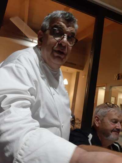 Chef Filippo Paoloni