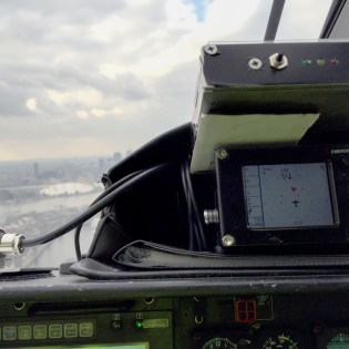 The LPAT on board the helicopter picked up signals of the crane during the flight trials