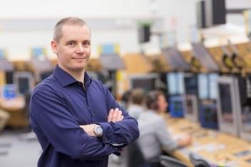 Operations Supervisor, Brian Wheeler