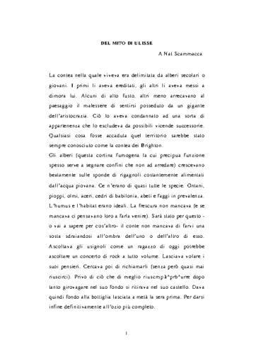 ILMITO DELLOSSISSEOdi IGNAZIO APOLLONI