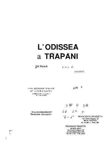 Odissea a Trapani