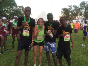 Reggae Marathon Finish
