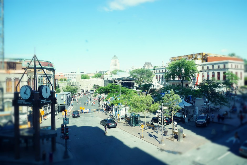 The Family Fairytale that is Quebec City - View from Hotel