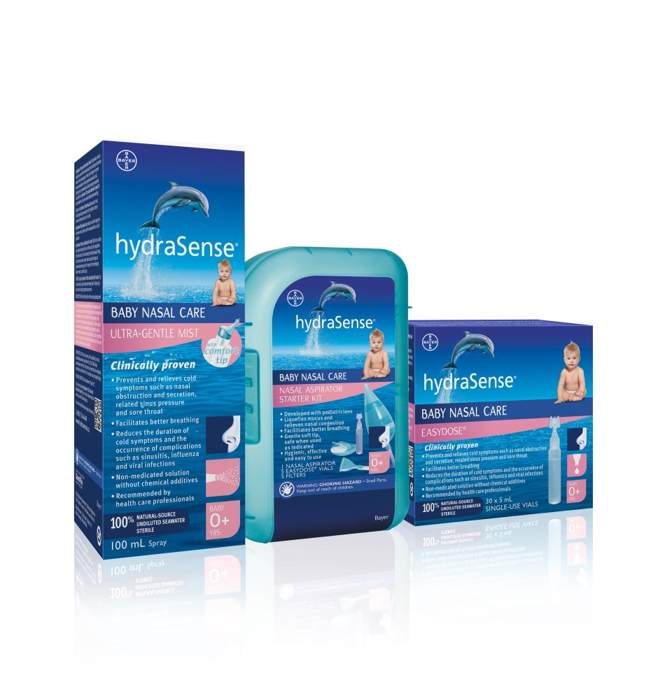 Getting You and Baby Ready for Cold Season Hydrasense