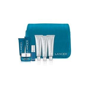 Lancer Skincare La méthode: Sac de Voyage (Pack de 4)