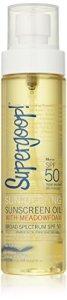 Supergoop! Sun Defying Sunscreen Oil With Meadowfoam Spf 50 – 5 Oz.
