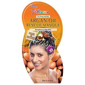 7th Heaven Huile D'Argan Cheveux Secours Masque pour la Force et Brillance