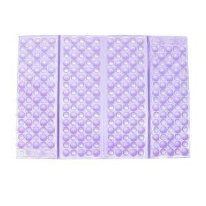 Outdoor Foam Portale Coussin Pliable Coussin de siège 36x26cm Violet