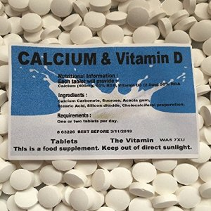 The Vitamin Calcium + Vitamine D (180 comprimés) 1 OU 2 par jour (L)