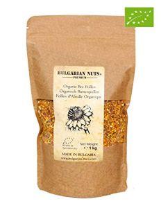 1 kg Pollen d'abeille biologique provenant de fleurs et d'herbes de la forêt, la plus grande variété de flore vierge Bulgare