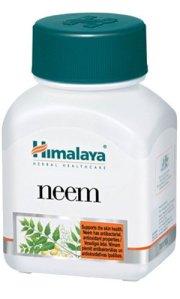 5 bouteilles Himalaya Herbal Neem pour les soins de la peau de chaque bouteille 60 Capsules total 300 Capsules