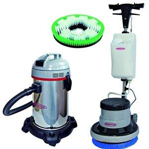 einscheiben Machine Em 17R avec aspirateur à eau N28/1e inclus: Disque Brosse moyenne et doux, Porte-dosette F. em17r