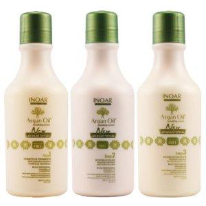 Inoar Mini Kit Lissage Huile d'Argan (Sans formol) (3 X 250 ml)