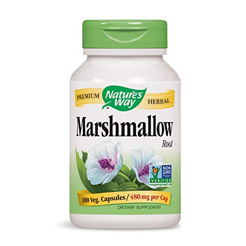 Nature's Way, racine de marshmallow, 100 Capsules