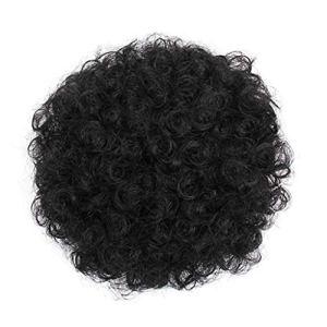 Clode Mode Jolie Femme Fille Porte-Queue de Cheval postiche Afro bouffée Perruque Cheveux Anneau Bun (D)