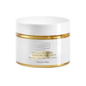 Masque Visage à l'Or 24K Anti-âge Anti-acné Anti-toxines INOLUX | PEEL-OFF | 150ML | Traitement Revitalisant Intense d'Exception.